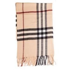 Купить Кашемировый шарфик Бежевый в Украине