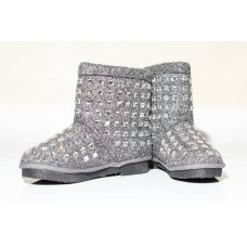 АКЦИЯ! Угги WOOL BOOTS GREY HOT