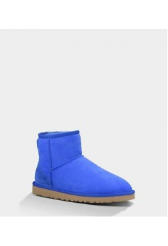 Купить UGG WOMENS CLASSIC MINI ELECTRIC BLUE В Украине