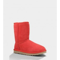 UGG CLASSIC SHORT RED LIGHT