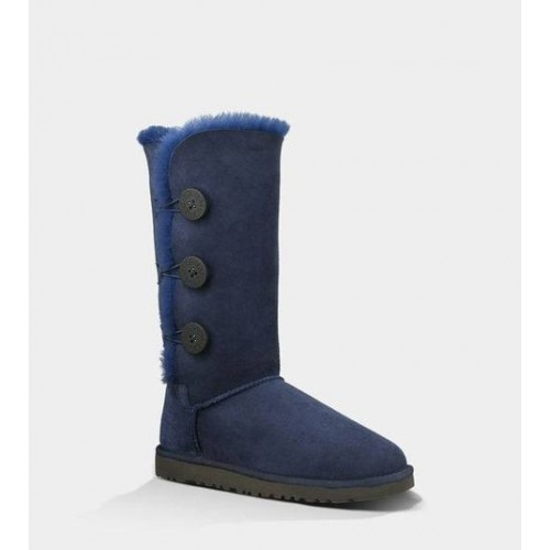Купить UGG Bailey Button Triplet Blue в Украине