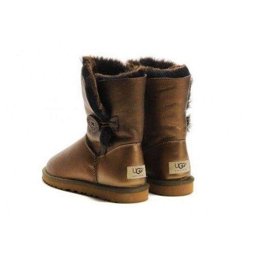 UGG BAILEY BUTTON BRONZE