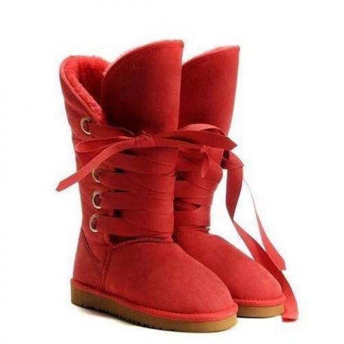 Купить UGG Roxy Tall Red в Украине