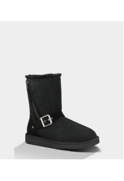 Купить UGG Short Blaise Black В Украине