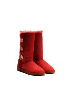 Купить UGG BAILEY BUTTON TRIPLET RED В Украине