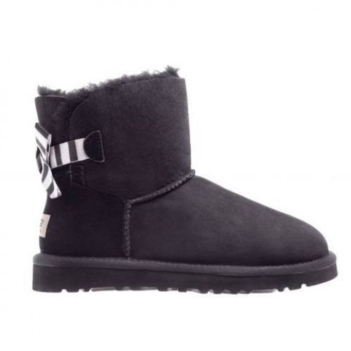 Угги UGG Australia mini Ribbon Black 2014