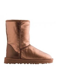 Купить UGG Classic Short Leather Gold (М-478) В Украине