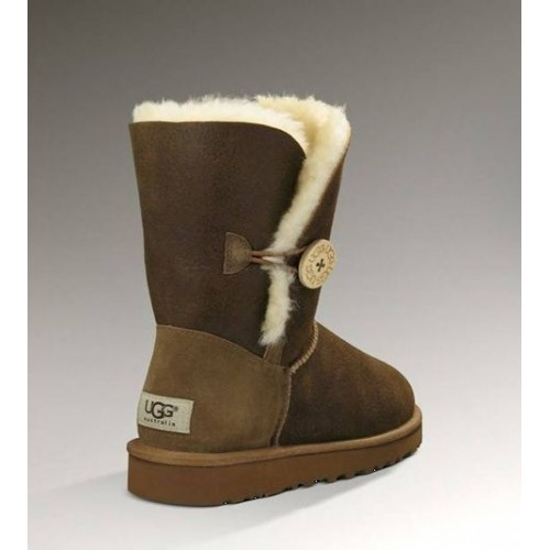UGG Bailey Button Bomber Chocolate