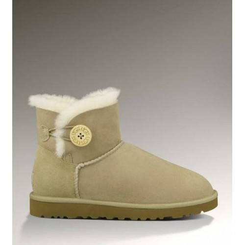 UGG Mini Bailey Button Sand ІІ