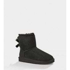 UGG Australia Mini Bailey Bow Black