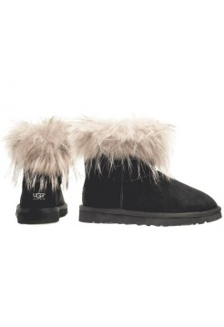 Купить UGG Australia Mini Raccoon Black 2014 В Украине