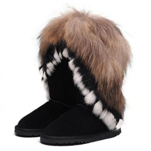 Купить UGG Classic Tall Fox Black в Украине