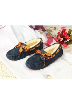 Купить UGG Dakota Bow Blue В Украине