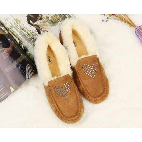 Купить UGG Kids Annemarie Heart Beige в Украине