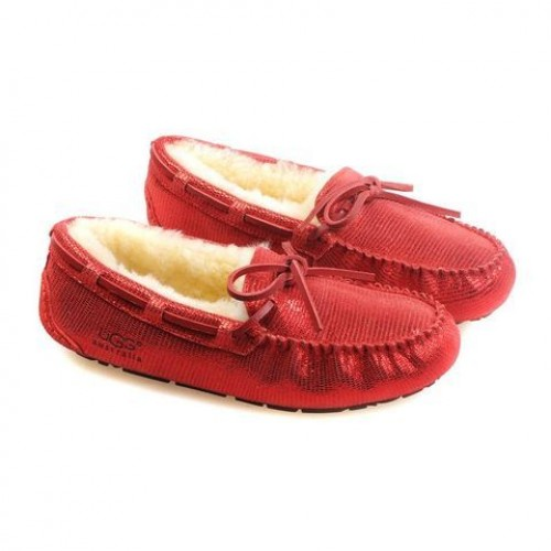 Купить UGG DAKOTA BRILLIANCE Red в Украине