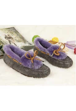UGG Dakota Color Gray-Purple