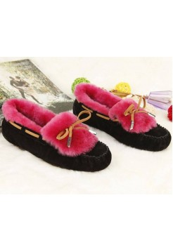 UGG Dakota Color Black-Red