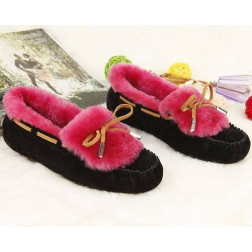 Купить UGG Dakota Color Black-Red в Украине