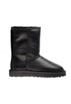 Купить UGG Australia Leather Black W01 В Украине