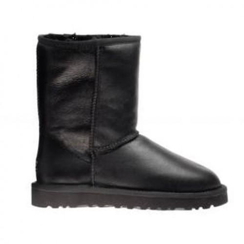 Купить UGG Australia Leather Black W01 в Украине