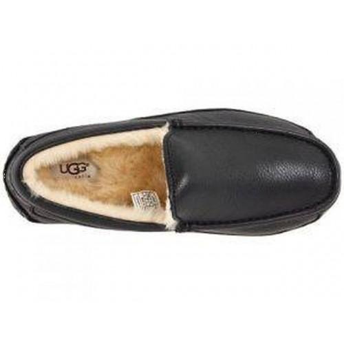 АКЦИЯ UGG MENS Ascot Leather Black HOT