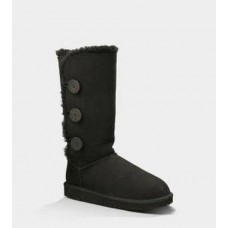 Купить АКЦИЯ! UGG BAILEY BUTTON TRIPLET black HOT в Украине