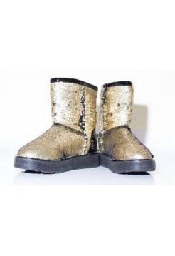 Купить АКЦИЯ! Угги CLASSIC GOLD SPARKLES HOT В Украине