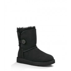 UGG Baby Bailey Button Black
