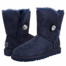 UGG Bailey Button Bling Blue