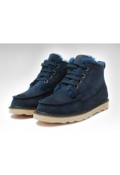 UGG David Beckham Boots Dark Bluе (ОE635)