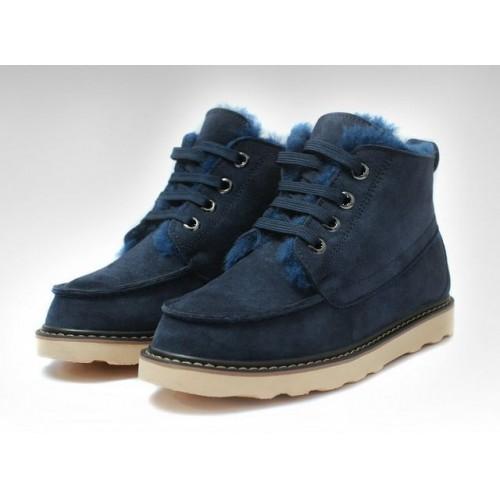 Купить UGG David Beckham Boots Dark Bluе в Украине