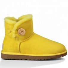 UGG Bailey Button Mini Yellow