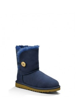 Детские угги UGG Baby Bailey Button Blue