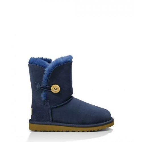 UGG Baby Bailey Button Blue
