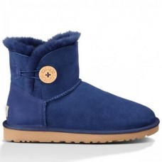 Купить UGG Bailey Button Mini Blue в Украине