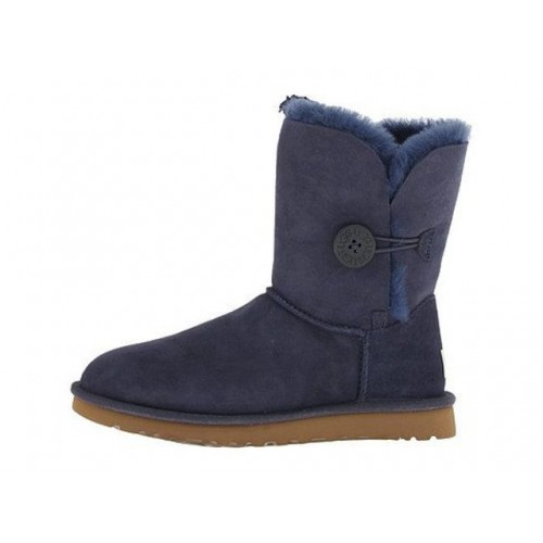 UGG Bailey Button Blue-Black