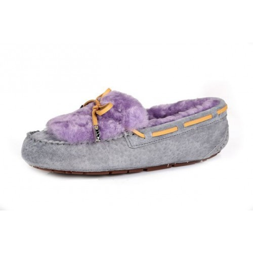 Купить UGG Dakota Fur Grey Purple в Украине