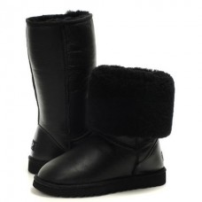 Купить Ugg Classic Tall Metallic Black в Украине