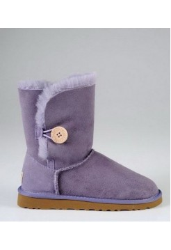 UGG Baby Bailey Button Lavender