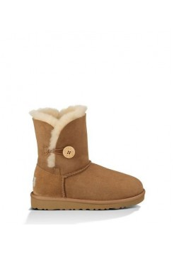 UGG Baby Bailey Button Chestnute