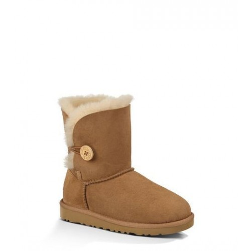 Детские угги UGG Baby Bailey Button Chestnute