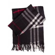Купить Кашемировый шарфик Черный в Украине