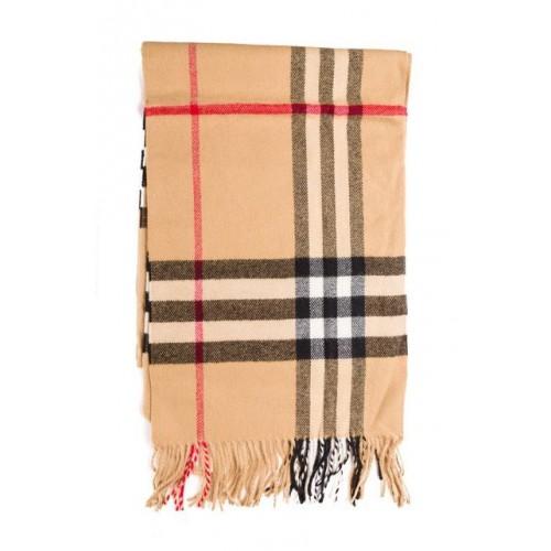 Купить Кашемировый шарфик Коричневый в Украине