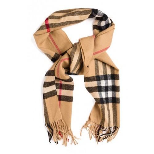 Кашемировый шарфик Коричневый