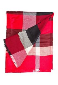 Купить Кашемировый шарфик Burberry Красный В Украине