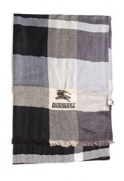 Купить Кашемировый шарфик Burberry Серый В Украине