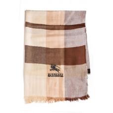 Кашемировый шарфик Burberry Бежевый Клетка
