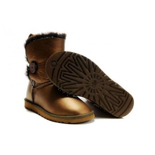 Купить АКЦИЯ! UGG BAILEY BUTTON BRONZE в Украине