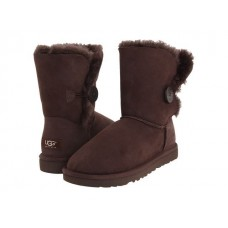 Купить АКЦИЯ! UGG BAILEY BUTTON Chocolate HOT в Украине