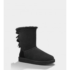 Купить АКЦИЯ! UGG BAILEY BOW BLACK HOT в Украине